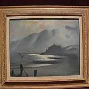 Australian art impressionist coastal landscape painting dated 1964 signed Jean Appleton