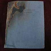 "Signed inscribed art book ""The Etchings and Lithographs of Arthur Bowen Davies"" by F"
