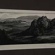THOMAS W. NASON (1889-1971) American art fine pencil signed print limited edition wood ...