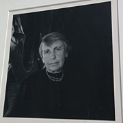 IMOGEN CUNNINGHAM (1883-1976) fine photography pencil signed rare photo of Anna Freud dated ..