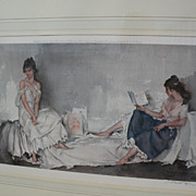 WILLIAM RUSSELL FLINT (1880-1969) important English 20th century watercolor artist limited edi
