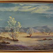 AILEEN POWERS STEPHENS (1889-1982) California art plein air desert painting
