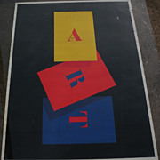 CHARLES ARNOLDI (1946-) colorful offset poster by the noted California contemporary artist wit