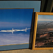 Aviation memorabilia Voyager first round the world nonstop flight without refueling TWO photos