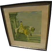 ALFRED J. MUNNINGS (1878-1959) highly important British equestrian sporting art PENCIL SIGNED