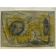 ROGER CHASTEL (1897-1981) pencil signed limited edition lithograph by School of Paris artist