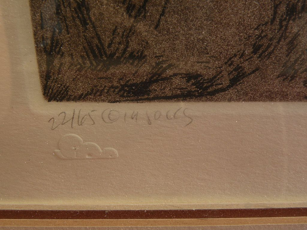 Amado Maurillo Pena 1943 New Mexico Arizona Art Limited