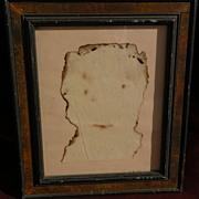 LENKE ROTHMAN (1929-) Swedish Hungarian listed Holocaust Jewish art and author unusual burned