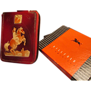 SOLD Early 50's Leather Cowboy Wallet by Nash Inc.