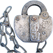 SOLD FRISCO (St. Louis & San Francisco) Railroad  Adlake steel SWITCH LOCK
