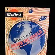 Vintage McNess Recipes From Round the World Cook Book