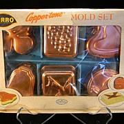 SOLD Vintage 1950's Mirro Mold Set in Original Box