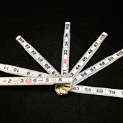 Vintage Lufkin Folding Ruler