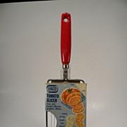 SOLD Vintage 1959 EKCO Tomato Slicer in Original Packaging