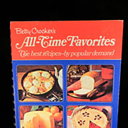 Vintage 1971 Betty Crocker's All-Time Favorites Cook Cook