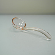 Pink Depression Glass Ladle