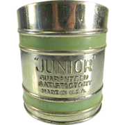 """SOLD Vintage """"Junior"""" Flour Sifter"""