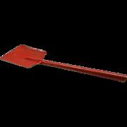 Vintage Red Metal Toy Shovel