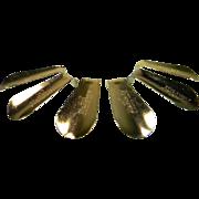 SOLD Six Vintage Hanover Shoe Horns