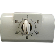 """SOLD Vintage Ceramic """"Mark-Time"""" Kitchen Timer"""