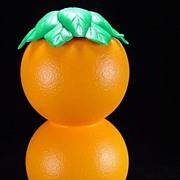 SOLD Vintage Plastic Orange Juice Pitcher