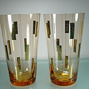 Two Classic 1950's/60's Retro Vases