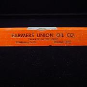 Vintage Farmers Union Oil Co. Level