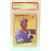 SALE 1989 Fleer #548  Ken Griffey Jr. Rookie card  PSA graded  Mint 9  #24553671