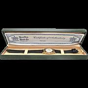 SALE Rare Registered Edition Mens Hamilton Piping Rock wrist watch very fine in original case