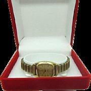 SALE Vintage 1980 Ladies Omega Deville wrist watch new battery ready to wear