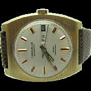 SALE Vintage 1972 Mens Caravelle by Bulova 17 jewel Automatic watch near mint