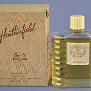 """SALE American, Circa 1929, """"Heatherfield"""" Presentation Set, Commercial Perfume Bottle by ."""