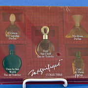 "SALE Vintage, ""Magnifique Collectible"" Presentation / Gift Set Includes FIVE, (5) Miniatur"