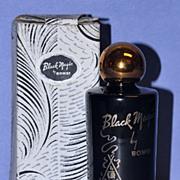 "SALE Striking! Circa 1942, American, ""Black Magic"" Bath Essence Gift Set by Bombi in ..."