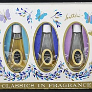 SALE Fantastic, Vintage, Classics in Fragrance Boxed set from Lentheric: Shanghai, Miracle & .