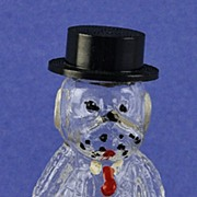 """SALE Whimsical! American, Circa 1940's, """"Dog"""" Shaped, Novelty Perfume / Scent Bottle"""