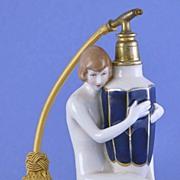 SALE Circa 1930's, Austrian / Czechoslovakian, Royal Dux, Porcelain, Figural, Naked Lady, ..