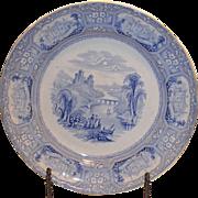 TJ&J Mayer Burslem Luncheon Plate in the Florentine pattern.