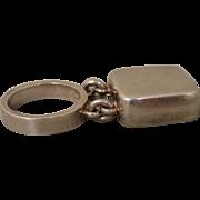 Georg Jensen Astrid Fog Sterling Modernist Ring 143 Kinetic