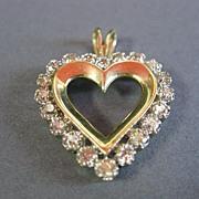 Diamond Pendant Heart