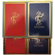 REDUCED Reduced! Ready Kilowatt Unopened playing cards.  Still in cellophane