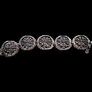 SALE Kultateollisuus Ky sunburst bracelet, Finnish modernist Scandinavian jeweler, Lindroos, 8