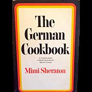 SALE On Sale: Cookbook vintage: Mimi Sheraton: The German Cookbook: pristine: 1965