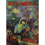 SALE Bermuda Travel Booklet: 1930s: pristine condition