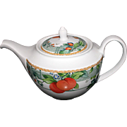 Wedgwood Eden Fruit and Trellis Teapot