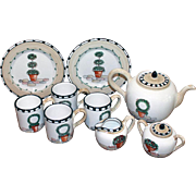 REDUCED MINT Italian Pottery Fratelli Mari Deruta Topiary Set Made in Italy for Vespucci