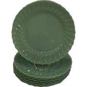 Fire King Jadeite Shell Dinner Plates -18 Available