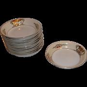 Vintage Noritake China 42200 Berry/Fruit Bowls