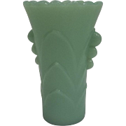Fire King Jadeite Vase - Excellent