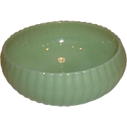 Fire King Jadeite Ribbed Bowl